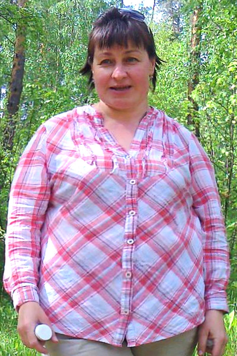Альфия Касимова до диеты
