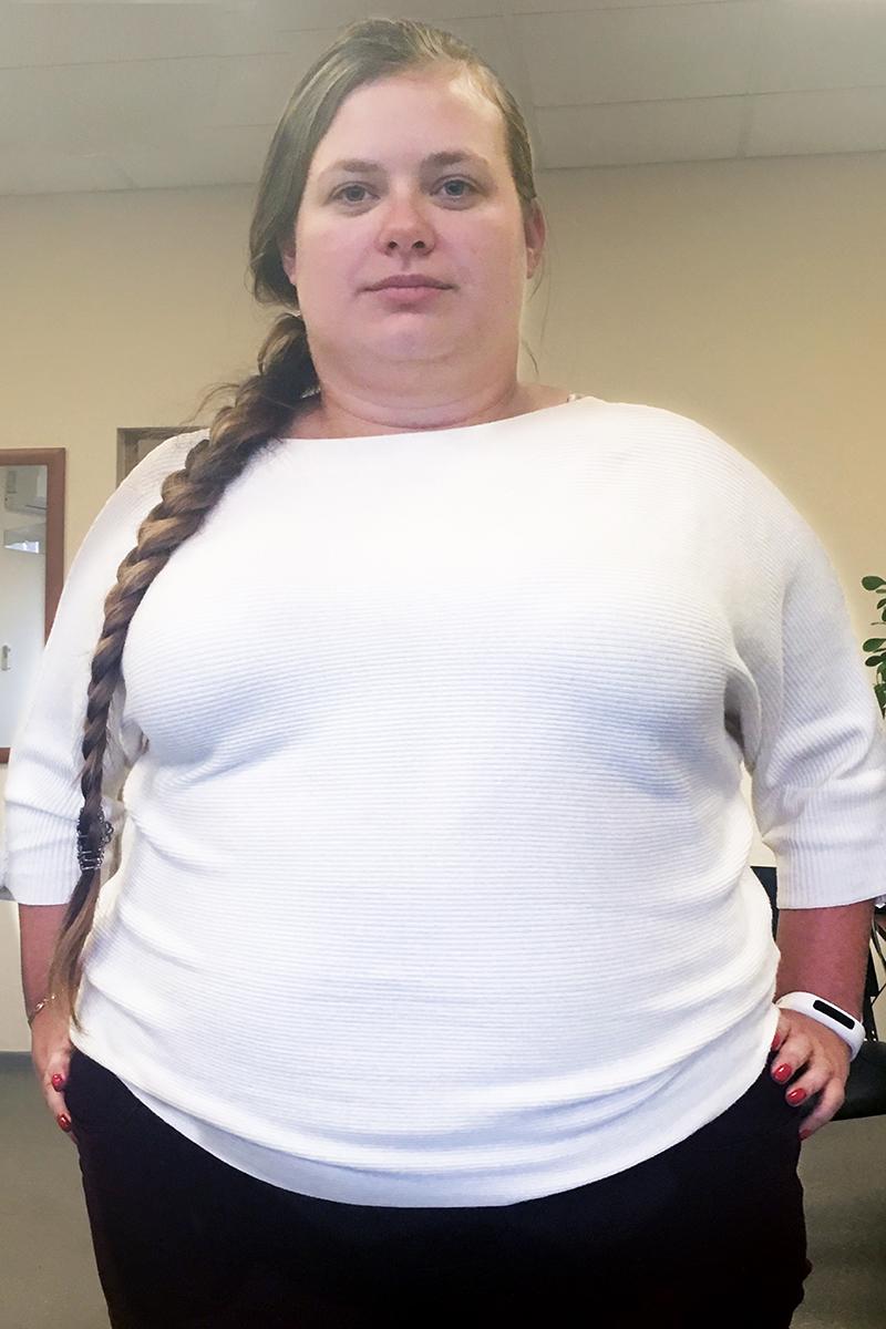 Колобаева Виктория до диеты