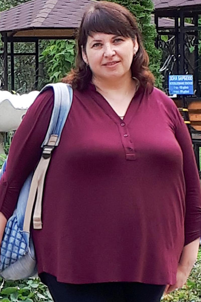 Мелихова Татьяна до диеты