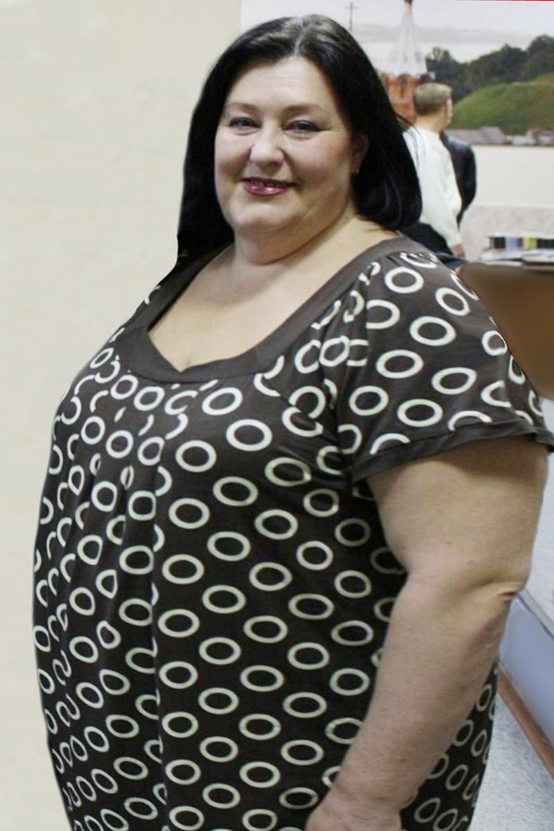 Татьяна Безбородая до диеты