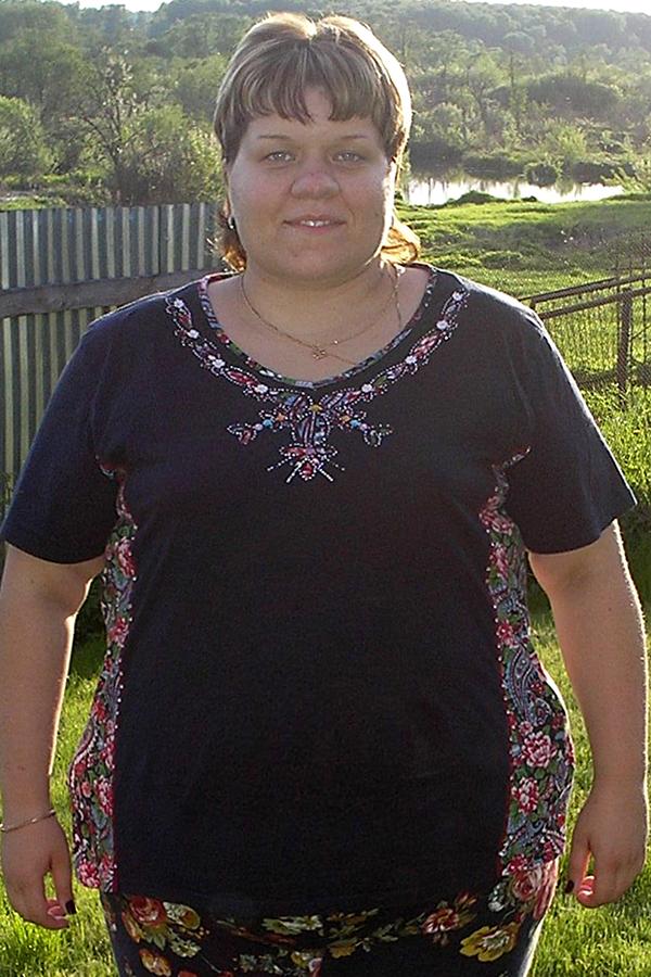 Виктория Гопотяк до диеты