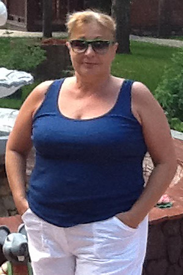 Наталия Карева до диеты