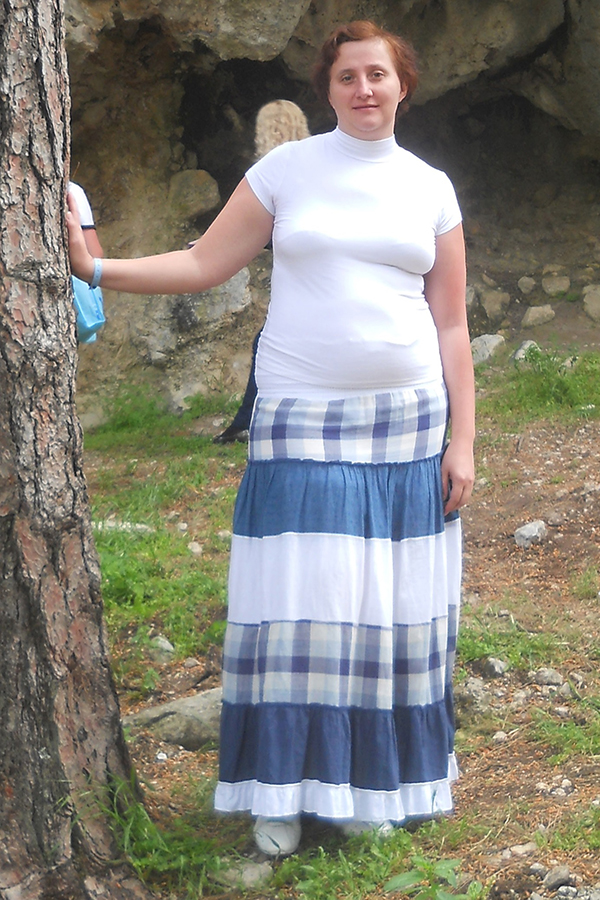 Варвара Колсанова до диеты