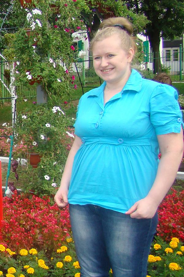 Анна Назарова до диеты