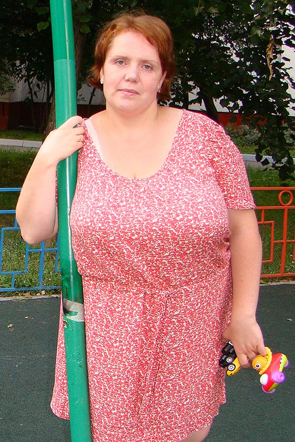 Анна Козловцева до диеты