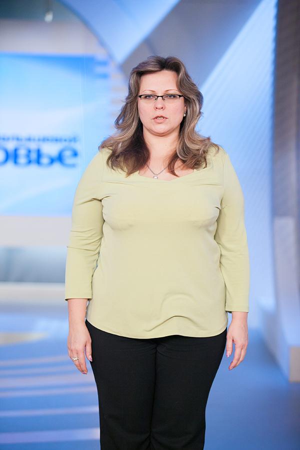 Наталья Краснова до диеты