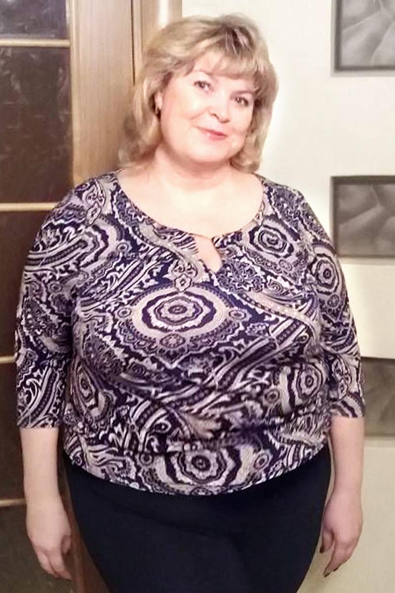 Лариса Кулемина до диеты