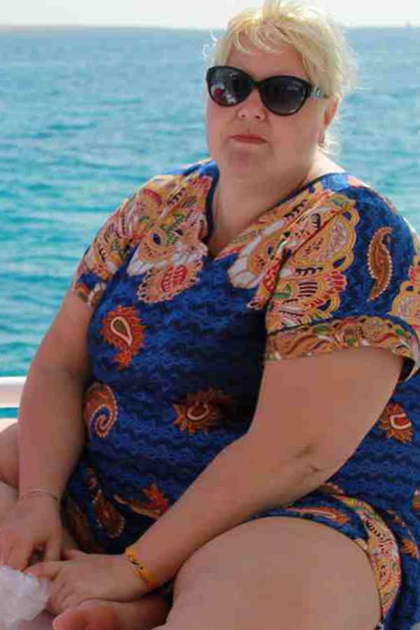 Татьяна Кургутлова до диеты