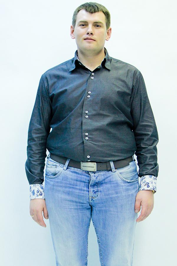 Игорь Лебедев до диеты