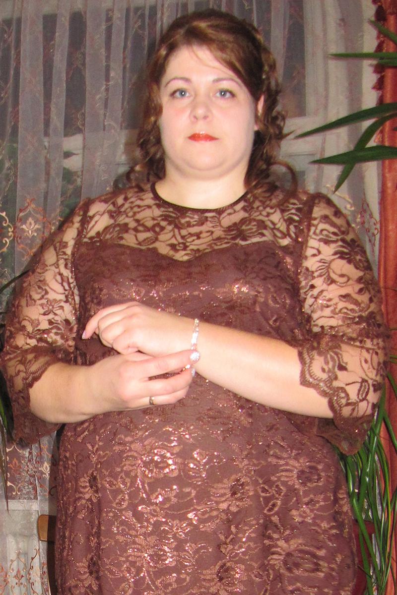 Татьяна Луканихина до диеты