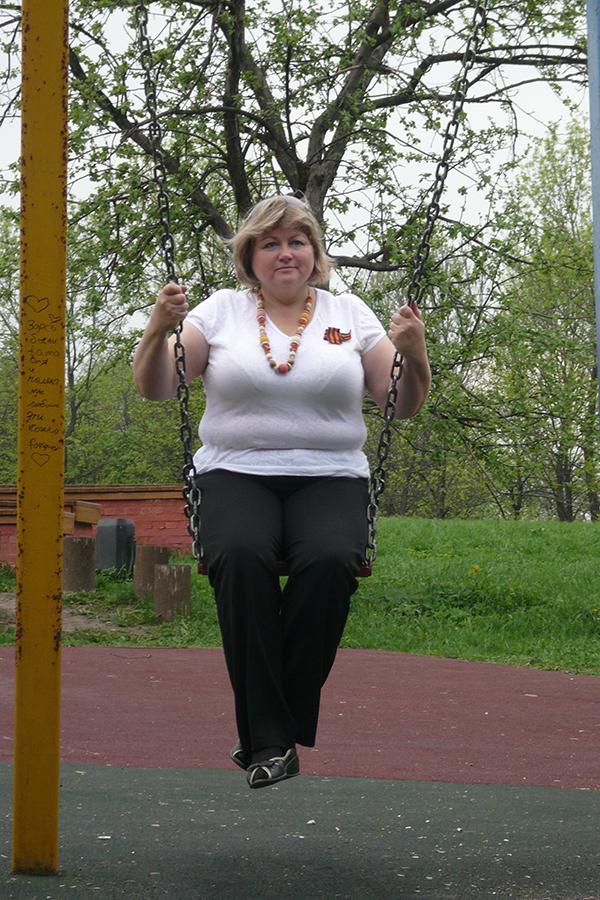Лариса Сегеда до диеты