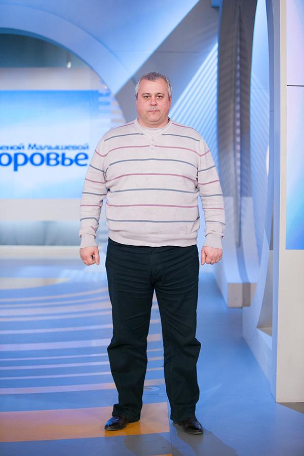 Антон Петров до диеты