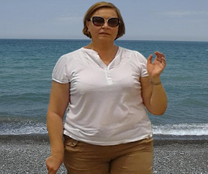 Тина Пояс до диеты