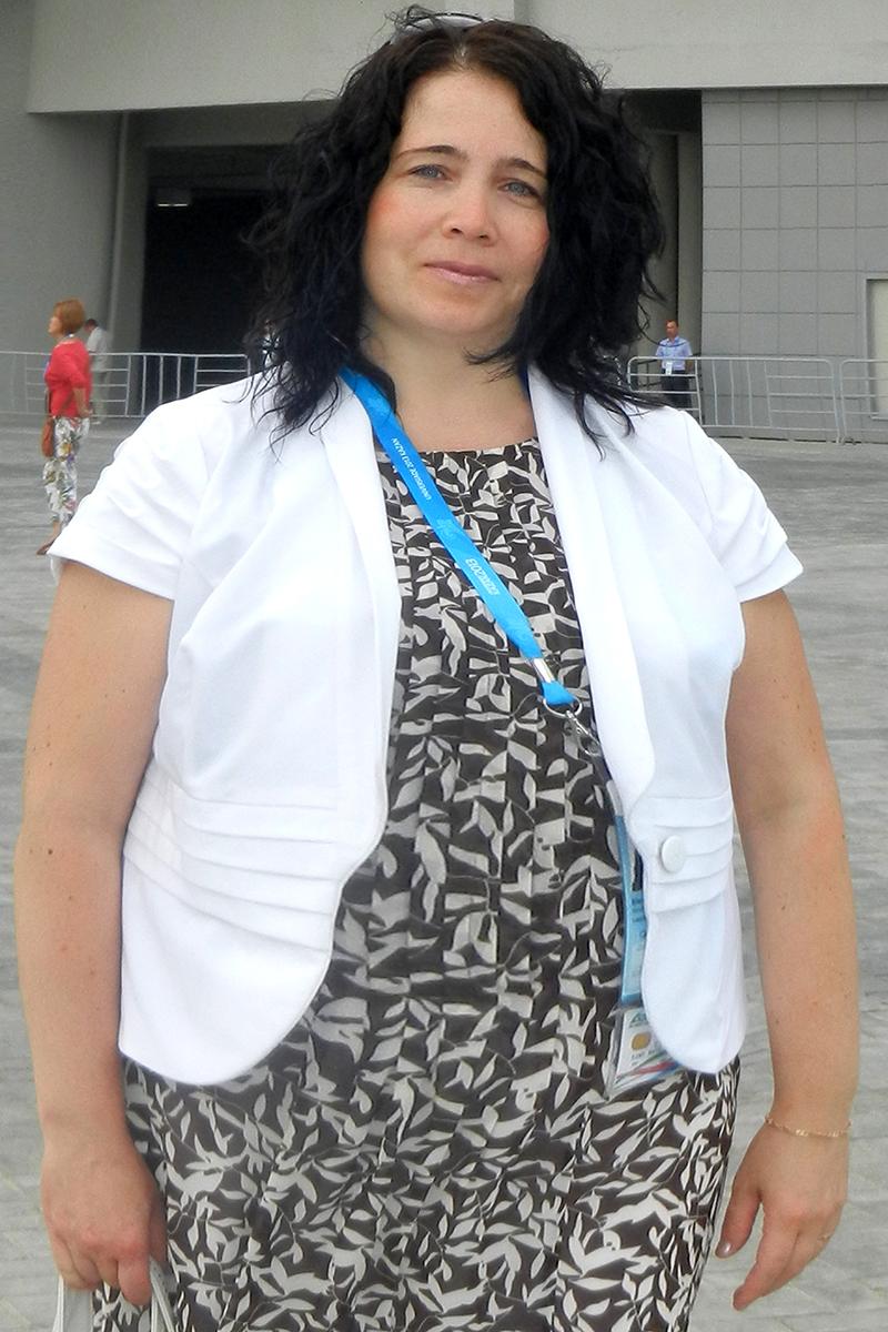 Эльмира Сагдеева до диеты
