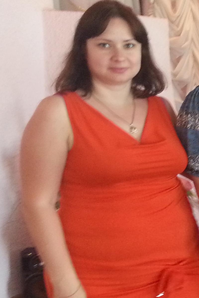 Олеся Самчук до диеты