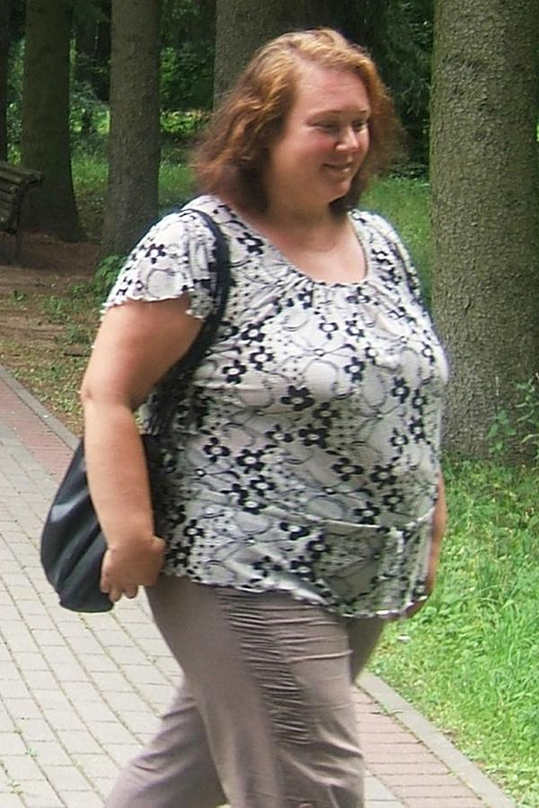 Светлана Жукова до диеты