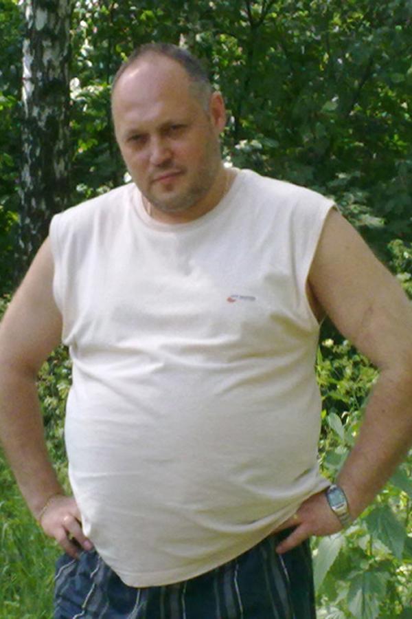 Владимир Зиновьев до диеты