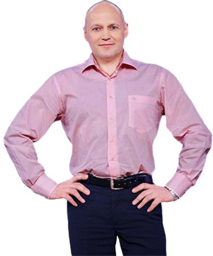 Владимир Зиновьев до диеты после диеты